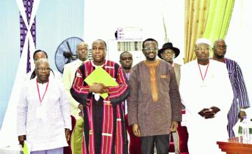 Pouvoir et opposition s'accordent sur les élections de 2020 au Burkina Faso