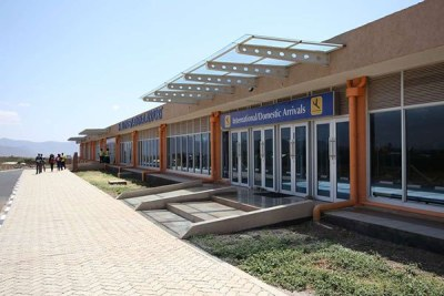 Isiolo International Airport taken on June 20, 2017 (file photo).