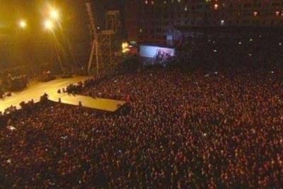 Le concert animé par le rappeur algérien Soolking au stade du 20 août 1955 à Alger