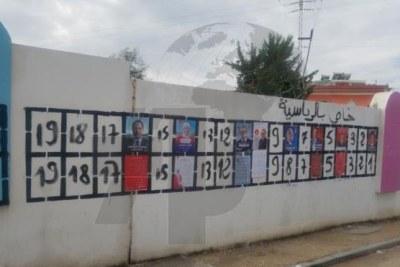 Sous une pluie battante, la campagne électorale présidentielle anticipée a démarré, lundi, 2 septembre 2019, au Kef. Sept candidats ont, déjà, affiché leur programme : Mongi Rahoui, Mehdi Jemaa, Hamma Hammami, Abdelkrim Zbidi,...