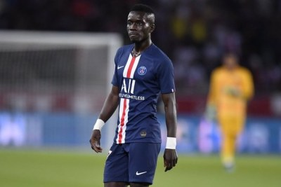 L'international sénégalais, Idrissa Gana Gueye, sociétaire de Paris Saint Germain (France)