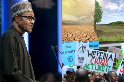 Climate change human-induced phenomenon - Buhari