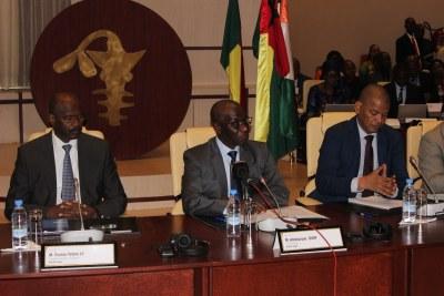 Ouverture officielle de la Concertation Régionale sur le Projet d'interopérabilité des services financiers de l'UEMOA, 30 Septembre 2019 au siège de la Banque Centrale à Dakar, Sénégal