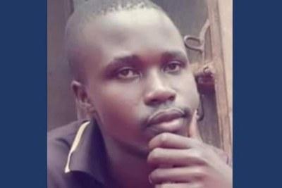Brian Wasswa, défenseur des droits LGBT violemment attaqué le 4 octobre 2019 et décédé le lendemain. Ses funérailles ont eu lieu, le 6 octobre 2019.