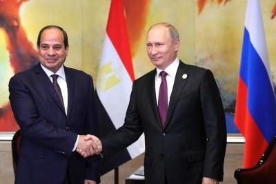 Le président russe Vladimir Poutine et le président égyptien Abdel Fattah al-Sissi s'exprimeront lors de la session plénière « Russie-Afrique : mettre en œuvre le potentiel de coopération ».