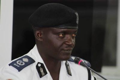 Police officer Ensa Badjie