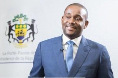 Ike Ngouoni, Porte-parole de la présidence