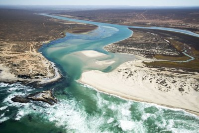 The lovely Olifants River estuary on the West Coast near Lutzville. A crucial meeting is being held this week to finalise a legally protected status for this threatened area.
