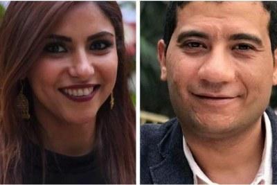 Journalistes égyptiens.