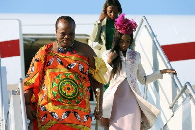 King Mswati III of Eswatini (file photo).