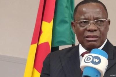 Leader de l'opposition camerounaise Maurice Kamto.