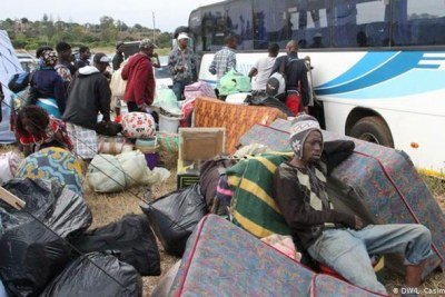 Hundreds of Mozambican citizens were repatriated in 2019 following ongoing xenophobic violence in South Africa (file photo).