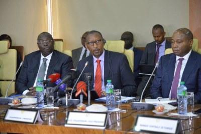 Première réunion ordinaire du bureau de l'Association des banques centrales africaines (Abca), Dakar le 13 février 2020 au siège de la BCEAO