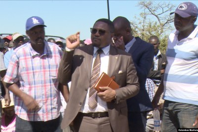 Former deputy information minister Energy Mutodi (file photo).