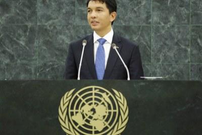 President Andry Rajoelina.