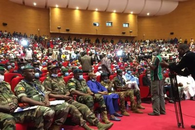 Mali soldier at the international conference center in Bamako (file photo).