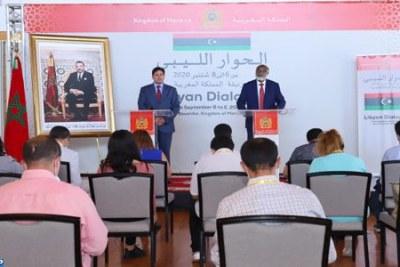 Dialogue politique inter-libyen à Bouznika- Déclaration