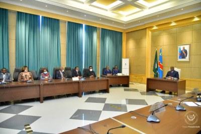 Consultations présidentielles Une délégation du Conseil National de Suivi de l'Accord (Cnsa) a été reçue par le Chef de l'État au palais de la nation