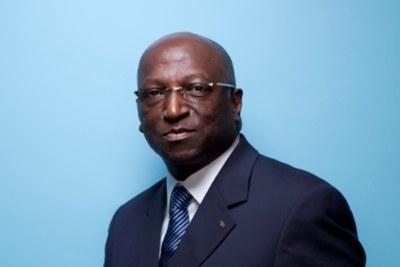 Président d'honneur de la Fédération Ivoirienne de Football (FIF), M. ANOUMA Jacques Bernard Daniel