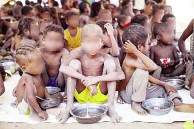 Beaucoup de gens, dont des enfants sont touchés par cette catastrophe humanitaire,  qui dure depuis des mois dans le sud malgache.