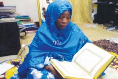Cheikha Maryama Niass, fille de Cheikh Ibrahima dit Baye Niass (1900-1975)