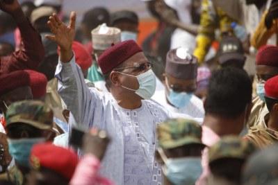 Niger president elect Mohamed Bazoum.