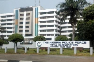The Nigeria Police Force Headquarters, Louis Edet House Abuja.