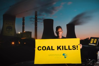 Mpumalanga is home to a cluster of twelve coal-fired power plants with a total capacity of over 32 gigawatts owned and operated by Eskom. The satellite data further reveals that the cities of Johannesburg and Pretoria are also highly affected by extreme NO2 pollution levels which blow across from Mpumalanga and into both cities due to close proximity and regular east winds (file photo).