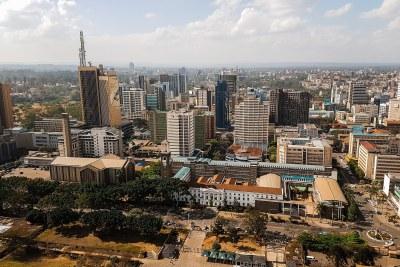 Ville de Nairobi.