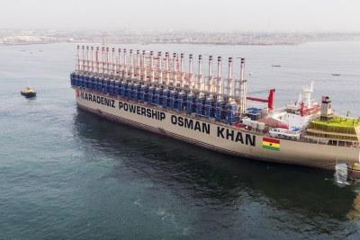 The Karadeniz powership Osman Khan (file photo).