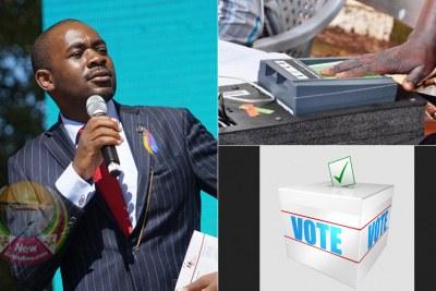 MDC Alliance leader Nelson Chamisa (file photo).