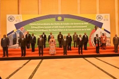 Sommet extraordinaire des chefs d'État et de gouvernement de la Communauté de développement de l'Afrique australe (SADC)