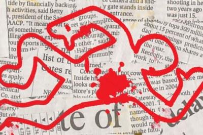 """Reporters sans frontières (RSF) dresse la liste des journaux """"assassinés"""""""