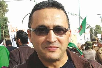 Le journaliste algérien Rabah Karèche