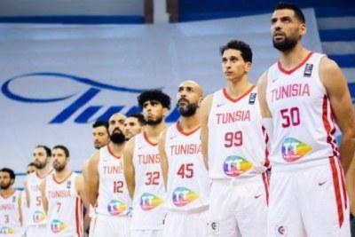 L'équipe nationale de basketball de la Tunisie