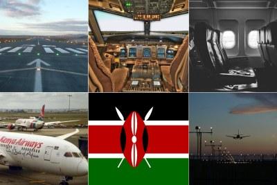 Kenya Airways (file photo).