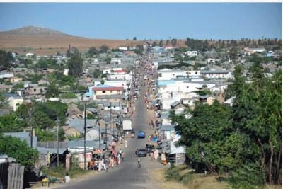 Ilakaka, devenue une ville après la découverte des mines de saphir.